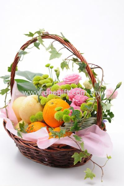 FF02 Flower and Fruit Basket Flower and Gift Malaysia, Selangor, Kuala Lumpur (KL), Shah Alam Supplier, Suppliers, Supply, Supplies | The One Gift Gallery Sdn Bhd