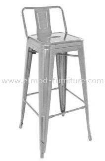 TOLIX Bar Stool With Low Backrest Bar Stool Selangor, Kuala Lumpur (KL), Puchong, Malaysia Supplier, Suppliers, Supply, Supplies | Elmod Online Sdn Bhd