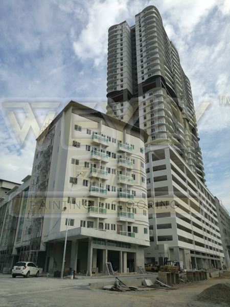 Project Painting Works Water Proofing Penang, Malaysia, Bukit Mertajam Services   WEYLY SDN BHD