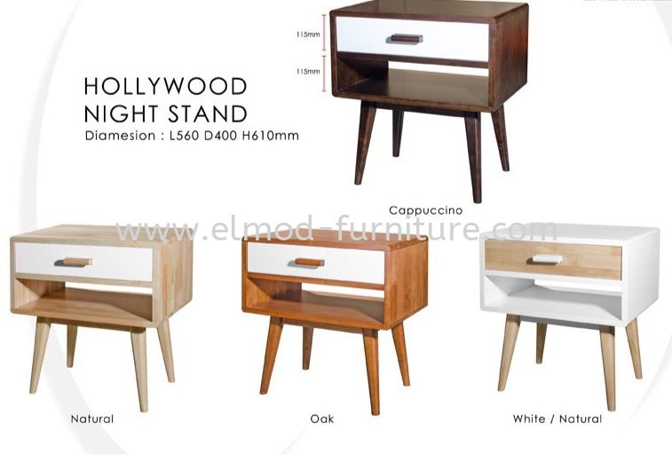 Hollywood Night Stand Side Table Table Selangor, Kuala Lumpur (KL), Puchong, Malaysia Supplier, Suppliers, Supply, Supplies | Elmod Online Sdn Bhd
