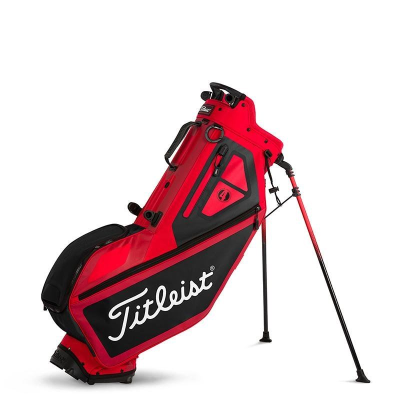 PLAYERS 4 STAND BAG RED | BLACK TB7SX1-601