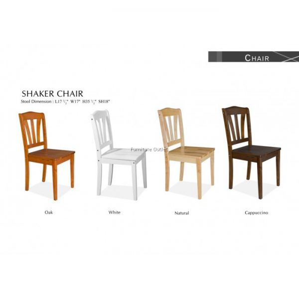 SHAKER CHAIR CAPPUCINO MALAYSIA OFFICE CHAIR OFFICE & STUDY FURNITURE Malaysia, Johor, Muar Supplier, Suppliers, Supply, Supplies | Scandinavian Furniture Outlet