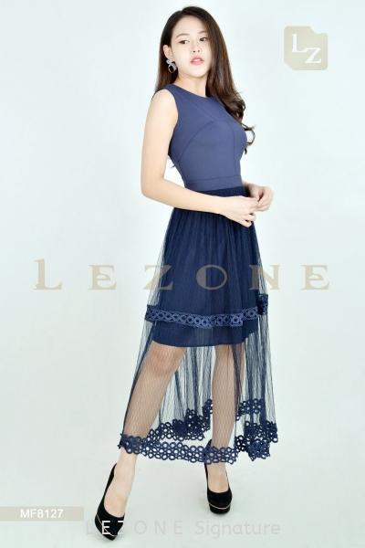 MF8127 LEANN MESH MIXI DRESS¡¾1st 35% 2nd 45% 3rd 55%¡¿ Dresses On Sale S A L E  Selangor, Kuala Lumpur (KL), Malaysia, Serdang, Puchong Supplier, Suppliers, Supply, Supplies | LE ZONE Signature