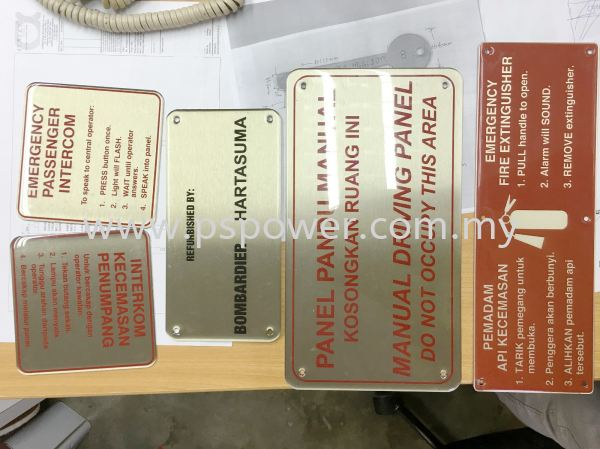 Etching P3 ETCHING PRODUCT Selangor, Malaysia, Kuala Lumpur (KL), Puchong Manufacturer, Maker, Supplier, Supply   PS Power Signs Sdn Bhd