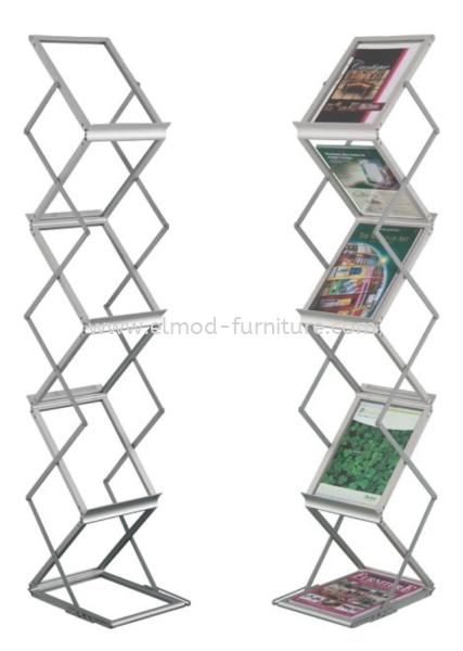 Foldable Leaflet Stand 361 Newspaper / Magazine Rack Selangor, Kuala Lumpur (KL), Puchong, Malaysia Supplier, Suppliers, Supply, Supplies   Elmod Online Sdn Bhd