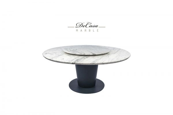 Whitw Marble Dining Table - Statuario Marble Marble Dining Table Selangor, Kuala Lumpur (KL), Malaysia Supplier, Suppliers, Supply, Supplies   DeCasa Marble Sdn Bhd