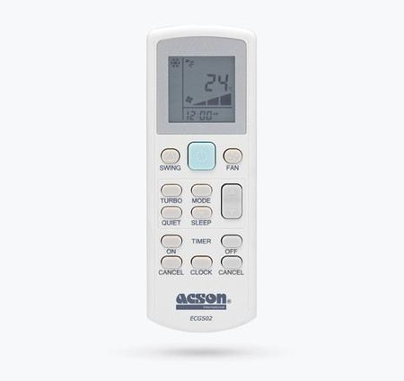 GS02 Wireless Remote Controller Controller Accessories ACSON Selangor, Malaysia, Kuala Lumpur (KL), Shah Alam Supplier, Suppliers, Supply, Supplies | Khoo Brothers Air Cond Engineering Sdn Bhd
