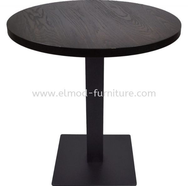 Round Table With Square MS Leg Dining Table Table Selangor, Kuala Lumpur (KL), Puchong, Malaysia Supplier, Suppliers, Supply, Supplies | Elmod Online Sdn Bhd