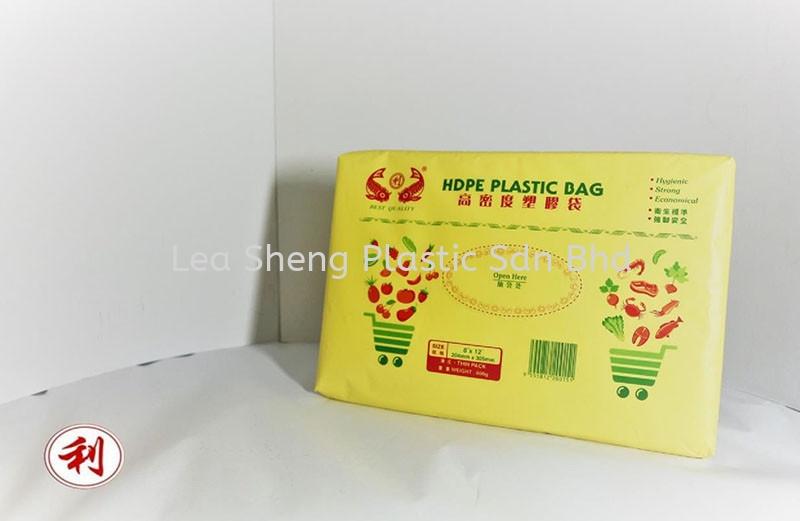 HDPE Plastic Bag (8'' x 12'') Thin Pack HDPE Plastic Bag Johor Bahru (JB), Malaysia, Skudai Manufacturer, Supplier, Wholesaler, Supply | Lea Sheng Plastic Sdn Bhd