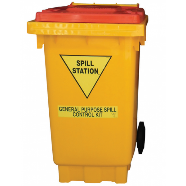 Spill Station SK100SF 100 Litre General Purpose Spill Kit General Purpose Spill Kit Spill Control, Chemical Storage & Handling Selangor, Malaysia, Kuala Lumpur (KL), Shah Alam Supplier, Suppliers, Supply, Supplies | Safety Solutions (M) Sdn Bhd