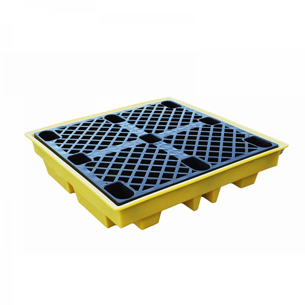 Spill Station TSSBP4L 4-Drum Spill Pallet Spill Containment Spill Control, Chemical Storage & Handling Selangor, Malaysia, Kuala Lumpur (KL), Shah Alam Supplier, Suppliers, Supply, Supplies | Safety Solutions (M) Sdn Bhd