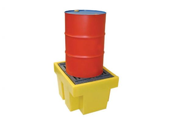 Spill Station TSSBP1 1-Drum Spill Pallet Spill Containment Spill Control, Chemical Storage & Handling Selangor, Malaysia, Kuala Lumpur (KL), Shah Alam Supplier, Suppliers, Supply, Supplies | Safety Solutions (M) Sdn Bhd