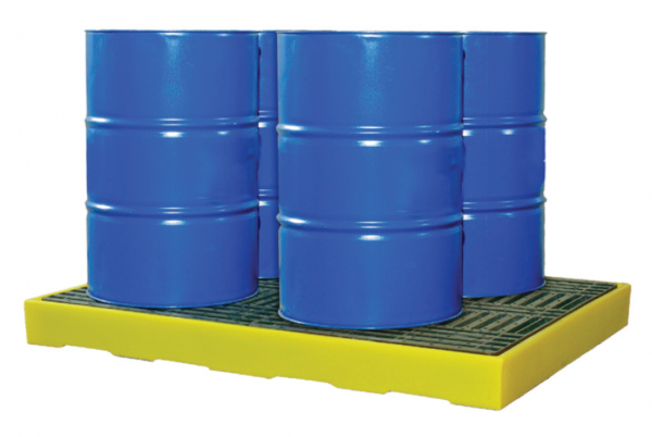 Spill Station TSSBF4 4-Drum Square Spill Deck Spill Containment Spill Control, Chemical Storage & Handling Selangor, Malaysia, Kuala Lumpur (KL), Shah Alam Supplier, Suppliers, Supply, Supplies | Safety Solutions (M) Sdn Bhd