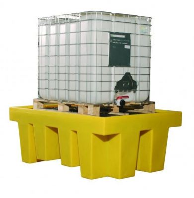 Spill Station TSSBB1 Single IBC Spill Containment Unit With Grate