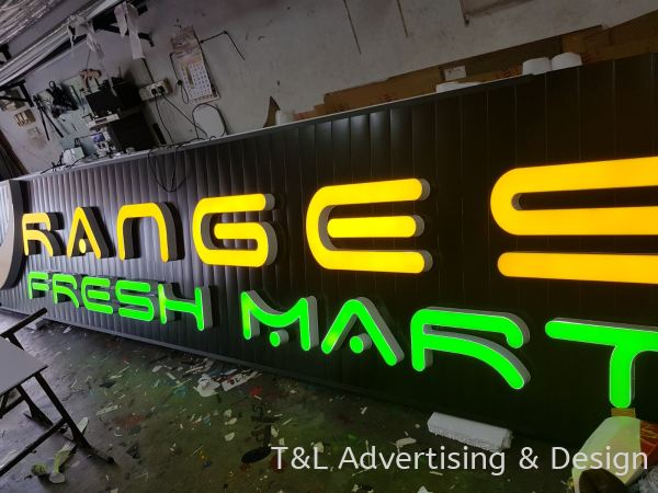 3D LED BOX-UP SIGNBOARD LED 3D Signage Johor Bahru (JB), Malaysia, Skudai Supplier, Supply, Design, Install | T & L Advertising & Design