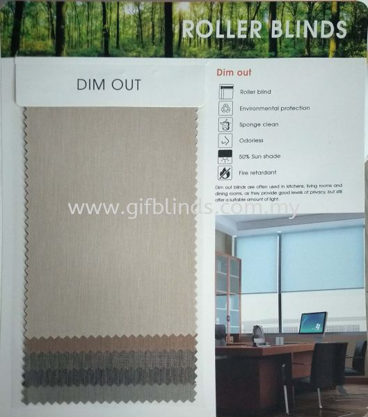 Roller Blinds New Others Johor Bahru, JB, Johor, Malaysia. Supplier, Suppliers, Supplies, Supply | GIF Blinds (M) Sdn Bhd