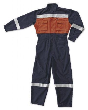 Fire Retardant Coverall with Reflective Fire Retardant Coverall Fire Safety Equipments Selangor, Malaysia, Kuala Lumpur (KL), Shah Alam Supplier, Suppliers, Supply, Supplies   Safety Solutions (M) Sdn Bhd