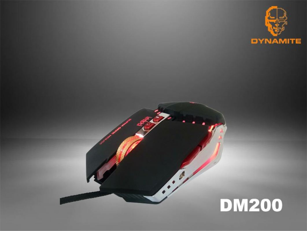 Dynamite Backlit Gaming Mouse DM200