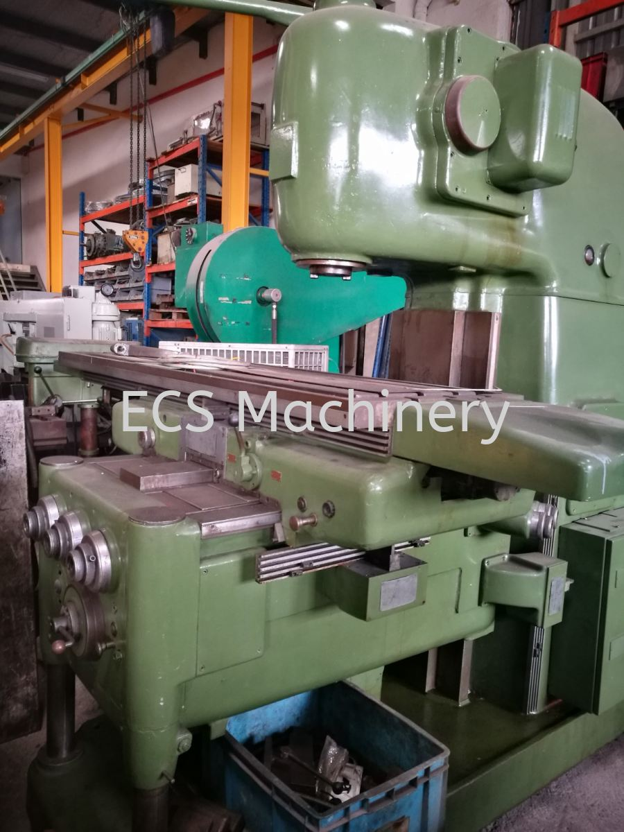 USED BED TYPE MILLING MACHINE Milling Machine Johor Bahru (JB), Malaysia, Mount Austin Used, Reconditioned, Supplier, Supply   ECS Machinery Service