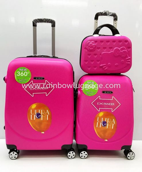 360 Candy Pink 3 In 1 360 Luggage Luggages Johor Bahru (JB), Malaysia, Johor Jaya Supplier, Suppliers, Supply, Supplies | Rainbow Wholesale Store Sdn Bhd
