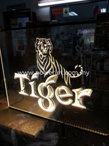 3D Acrylic Engraved  LED Signage Puchong, Selangor, Malaysia Supply, Design, Installation | Power Jet Solution Sdn Bhd
