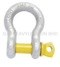 Bow Screw Pin Shackle Shackle Lifting Accessories Malaysia, Johor Bahru (JB), Masai Services | SUN HEAVYLIFT SDN BHD