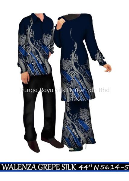 WALENZA GREPE SILK (44 inches) NEW ARRIVALS PAKAIAN SERAGAM (UNIFORM) KAIN BUNGA (FABRIC) Malaysia, Selangor, Kuala Lumpur (KL), Klang Supplier, Supply, Supplies, Store   Bunga Raya Silk House Sdn Bhd
