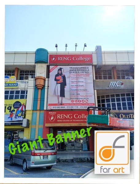Giant Banner (zigzag) Giant Banner Selangor, Malaysia, Kuala Lumpur (KL), Subang Jaya Manufacturer, Maker, Supplier, Supply | Far Art Neon Advertising