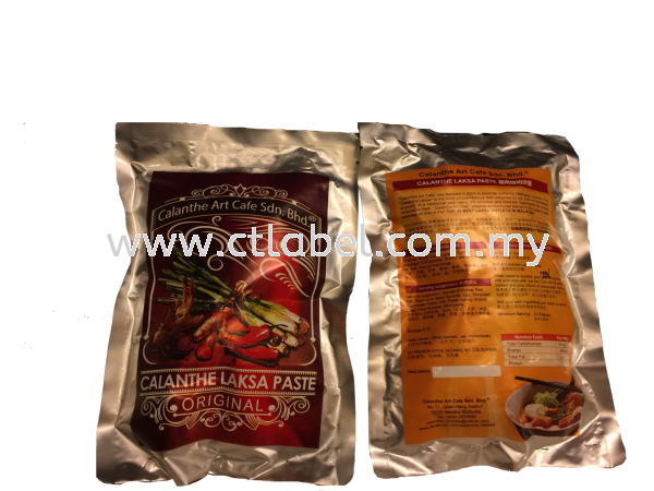 Products Labelling Food & Beverage Label Melaka, Malaysia, Ayer Keroh Supplier, Suppliers, Supply, Supplies | CT Label Enterprise Sdn Bhd
