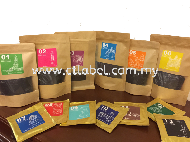 Products Labelling Food & Beverage Label Melaka, Malaysia, Ayer Keroh Supplier, Suppliers, Supply, Supplies   CT Label Enterprise Sdn Bhd
