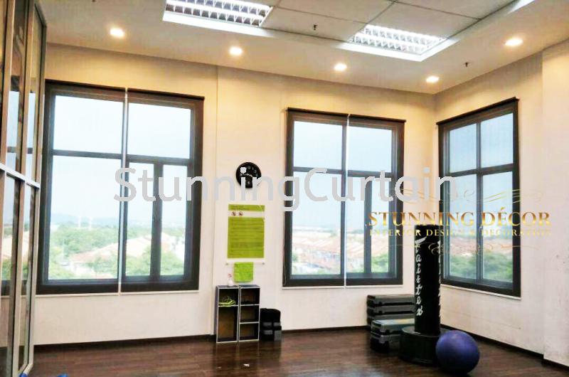 Setia Alam Fitness Centre Project Blinds Puchong, Selangor, Kuala Lumpur (KL), Malaysia, Subang Jaya Supplier, Suppliers, Supply, Supplies   Stunning Curtain