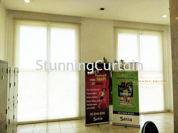 Setia Alam Fitness Centre Project Blinds Puchong, Selangor, Kuala Lumpur (KL), Malaysia, Subang Jaya Supplier, Suppliers, Supply, Supplies | Stunning Curtain