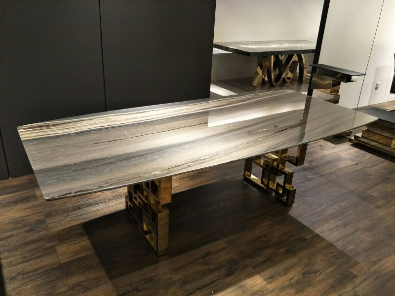 Modern Marble Dining Table - Bluette Marble Marble Dining Table Selangor, Kuala Lumpur (KL), Malaysia Supplier, Suppliers, Supply, Supplies   DeCasa Marble Sdn Bhd