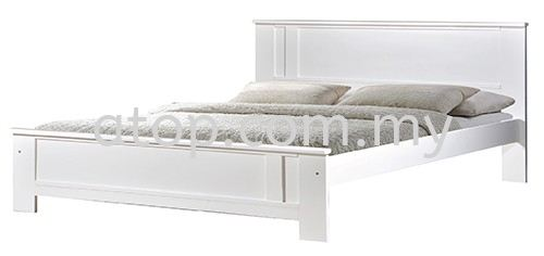 Atop ATN 3502WH Queen Size Bed Frame New Product Queen Size Bed Frame (5ft) Malaysia, Selangor, Kuala Lumpur (KL), Rawang Manufacturer, Maker, Supplier, Supply   Atop Trading Sdn Bhd