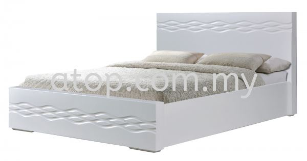 Atop ATN 3504WH Queen Size Bed Frame New Product Queen Size Bed Frame (5ft) Malaysia, Selangor, Kuala Lumpur (KL), Rawang Manufacturer, Maker, Supplier, Supply | Atop Trading Sdn Bhd