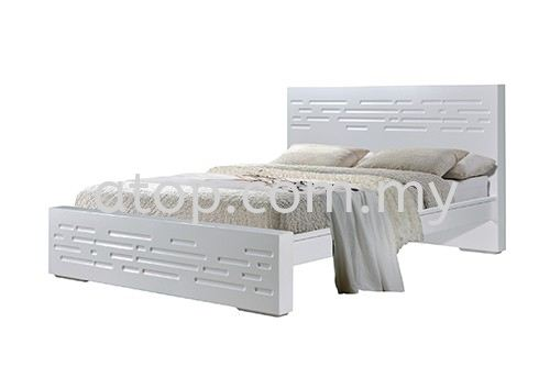 Atop ATN 3506WH Queen Size Bed Frame New Product Queen Size Bed Frame (5ft) Malaysia, Selangor, Kuala Lumpur (KL), Rawang Manufacturer, Maker, Supplier, Supply | Atop Trading Sdn Bhd