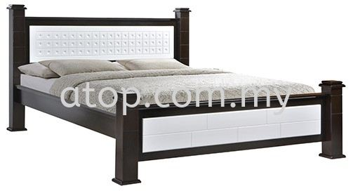Atop ATN 3512WHW Queen Size Bed Frame New Product Queen Size Bed Frame (5ft) Malaysia, Selangor, Kuala Lumpur (KL), Rawang Manufacturer, Maker, Supplier, Supply | Atop Trading Sdn Bhd
