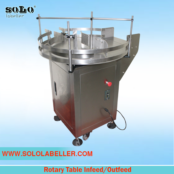 Rotary Table Infeed / Outfeed Other Selangor, Malaysia, Kuala Lumpur (KL), Puchong Machine, Manufacturer, Supplier, Supply | Solo Labelling Sdn Bhd