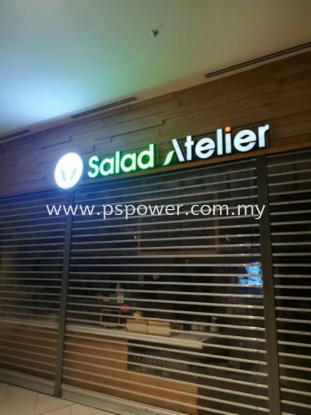 EG Box up Signage with LED Front Lit LED SIGNAGE SIGNAGE Selangor, Malaysia, Kuala Lumpur (KL), Puchong Manufacturer, Maker, Supplier, Supply   PS Power Signs Sdn Bhd