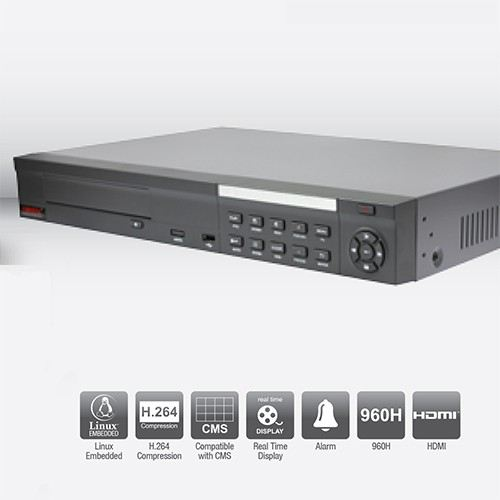 BVR16XL 8 Channel H.264 Embedded DVR H.264 Embedded DVR (Lite Series) Centrix CCTV Kuala Lumpur (KL), Malaysia, Selangor Supplier, Supply, Supplies, Rental | Stream Communication System Sdn Bhd