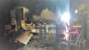 Elderly woman hospitalised after fire at Tampines flat