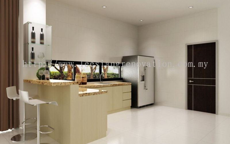 Kitchen Cabinet Design 3D Kitchen 3D Design Drawing   | HomeBagus - Home and Deco ONLINE EXPO!