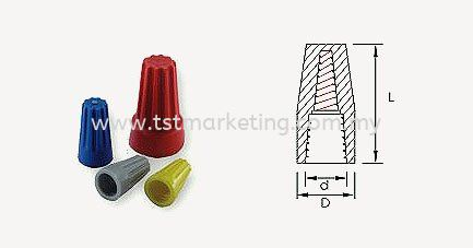 WIRE NUT CONNECTORS WITH SPRING INSERT CONNECTORS Malaysia, Selangor, Kuala Lumpur (KL), Seri Kembangan Supplier, Suppliers, Supply, Supplies | TST Electrical Marketing