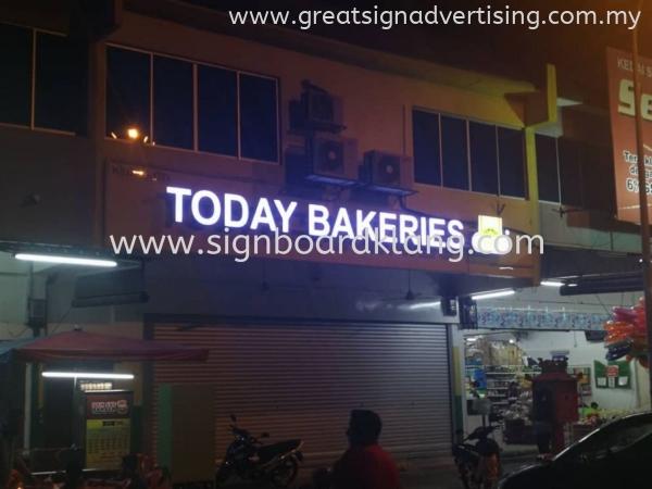 Today Bakeries 3D LED Box Up Signage In Klang Utama 3D LED SIGNAGE Selangor, Malaysia, Kuala Lumpur (KL), Klang Manufacturer, Maker, Installation, Supplier | Great Sign Advertising (M) Sdn Bhd