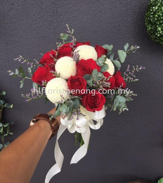 Bridal Bouquet Penang, Butterworth, Malaysia Supplier, Suppliers, Supply, Supplies | HL Florist & Gift