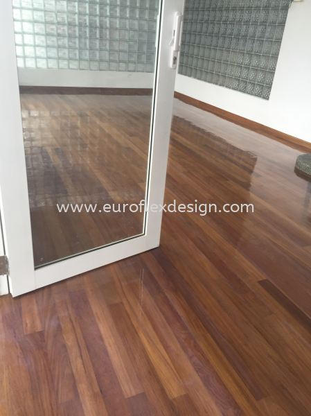 Wood Flooring  Johor Bahru (JB), Bukit Indah Service, Design, Renovation | Euroflex Design And Construction Work