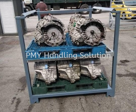 Pallet Tainer With Middle Level Pallet Tainer Galvanised Steel Pallet Selangor, Kuala Lumpur, KL, Malaysia. Supplier, Suppliers, Supply, Supplies   PMY Handling Solution