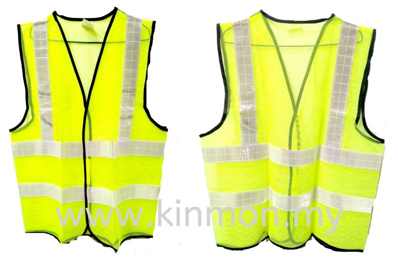 *Promo* Netting Vest With Valcro Vest Road Safety Penang, Malaysia, Georgetown Supplier, Suppliers, Supply, Supplies | Kim Ban Hin Trading Sdn Bhd