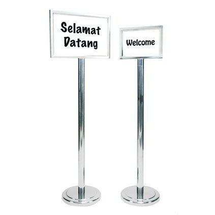 Stainless Steel Welcome Stand Queue Up Stand Others Accessories Malaysia, Selangor, Kuala Lumpur (KL), Seri Kembangan Supplier, Suppliers, Supply, Supplies | Aimsure Sdn Bhd