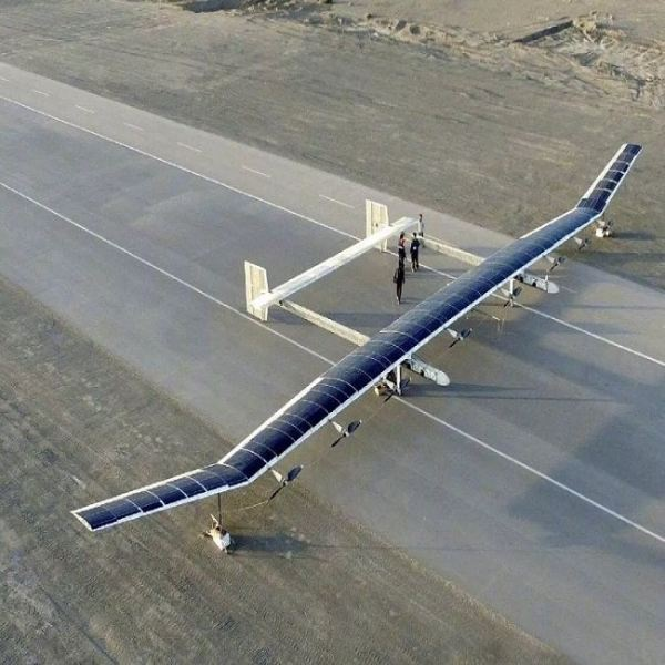 Chinas solar-powered UAV China News Malaysia News | SilkRoad Media